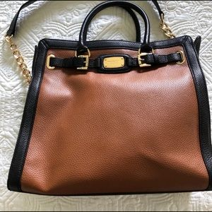Gorgeous Camel and Black Michael Kors Bag